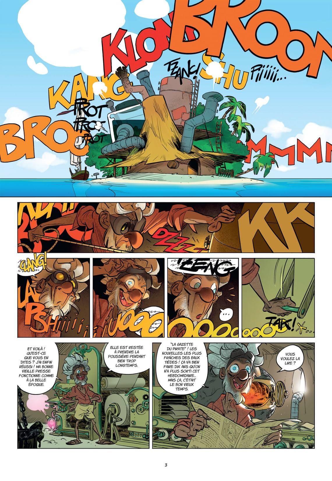 Tangomango Vol. 2: La gazette du  pirate