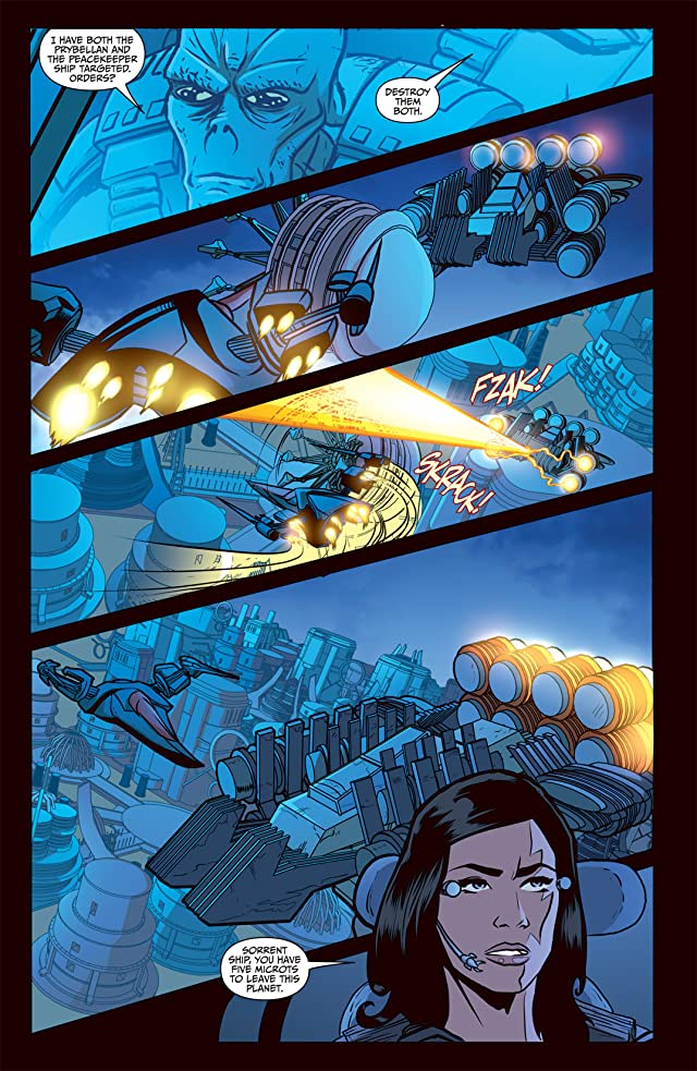 click for super-sized previews of Farscape Vol. 4: Ongoing #4