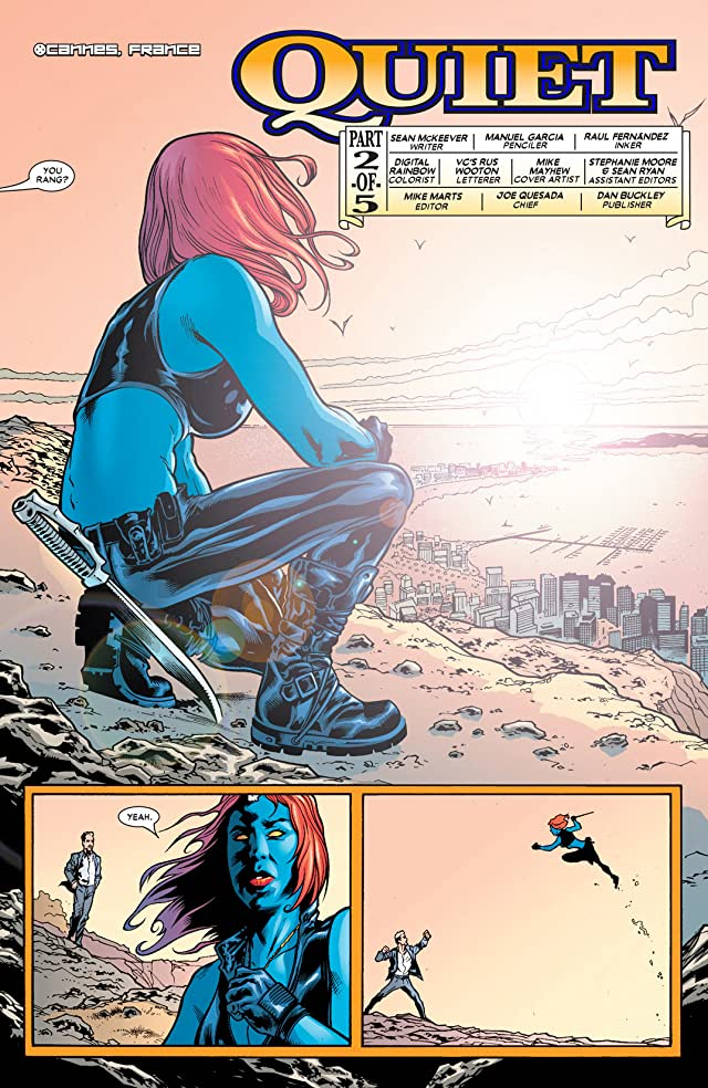 click for super-sized previews of Mystique (2003-2005) #21