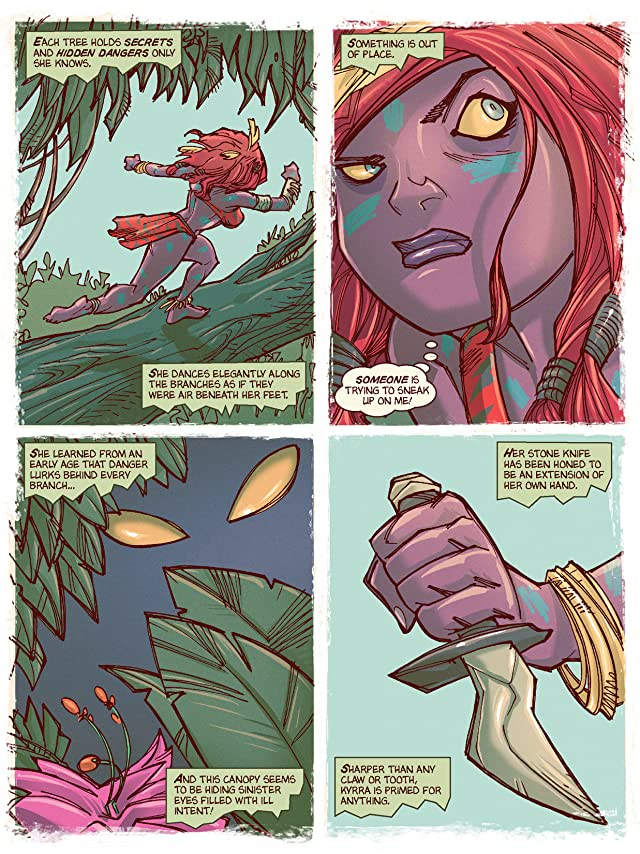 Kyrra: Alien Jungle Girl #1