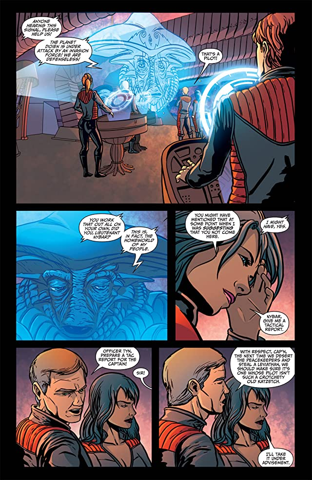 click for super-sized previews of Farscape Vol. 4: Ongoing #6