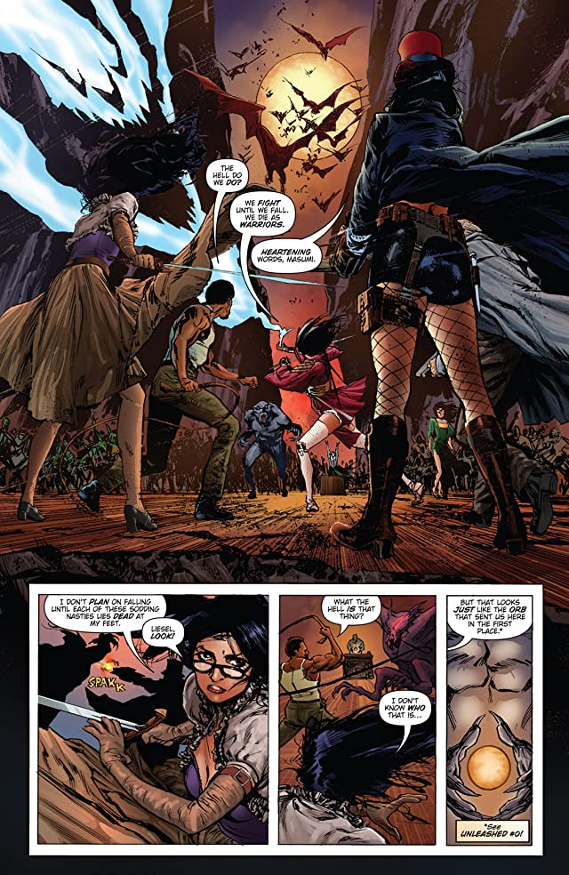 Unleashed: Hunters the Shadowlands #5 (of 5)