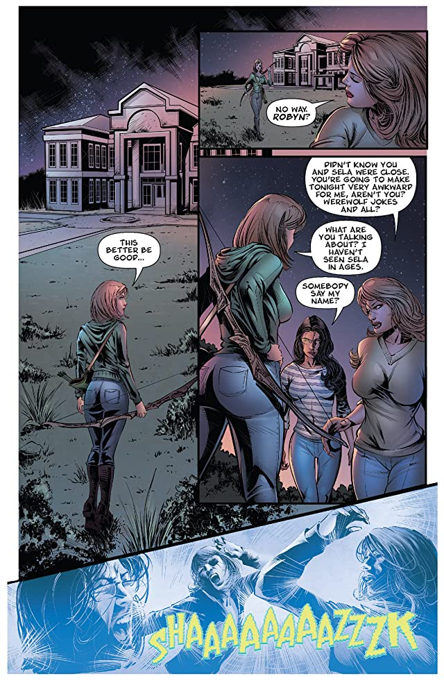 click for super-sized previews of Grimm Fairy Tales #5: Halloween Special 2013