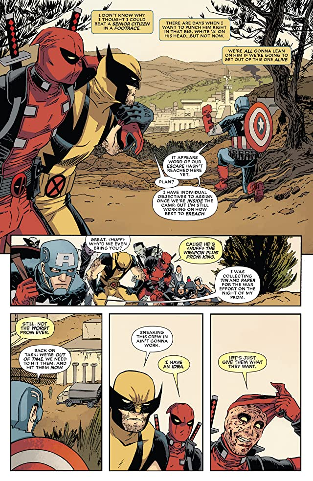 click for super-sized previews of Deadpool (2012-) #18