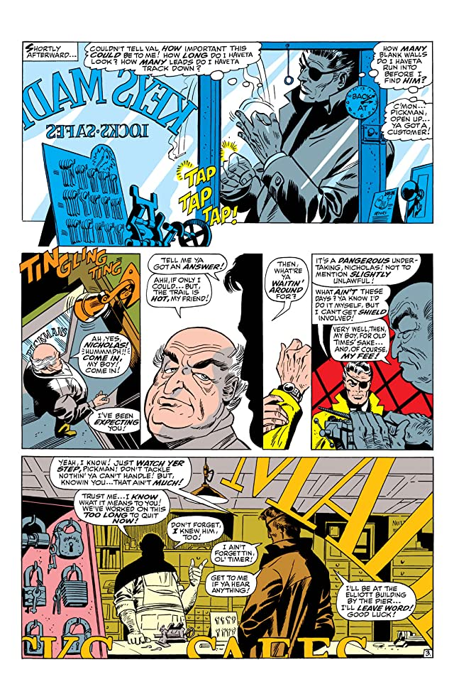 click for super-sized previews of Nick Fury: Agent of S.H.I.E.L.D. (1968-1971) #5