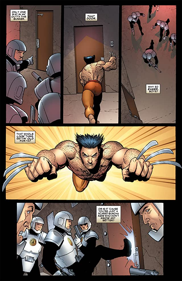 click for super-sized previews of Wolverine: Origins #11