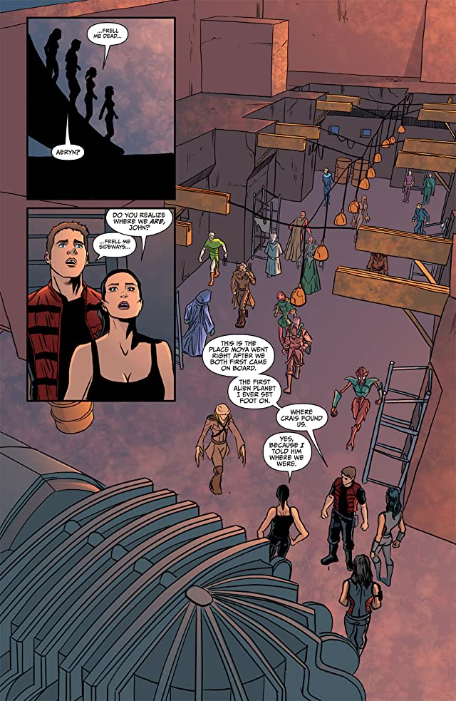click for super-sized previews of Farscape Vol. 4: Ongoing #10