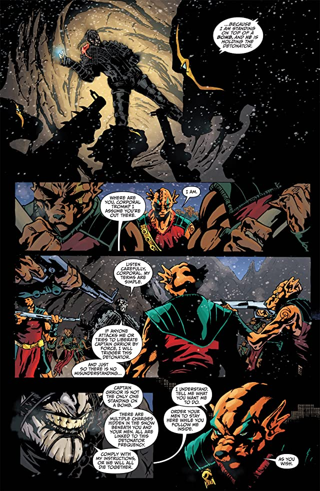 click for super-sized previews of Farscape: Scorpius #1 (of 7)