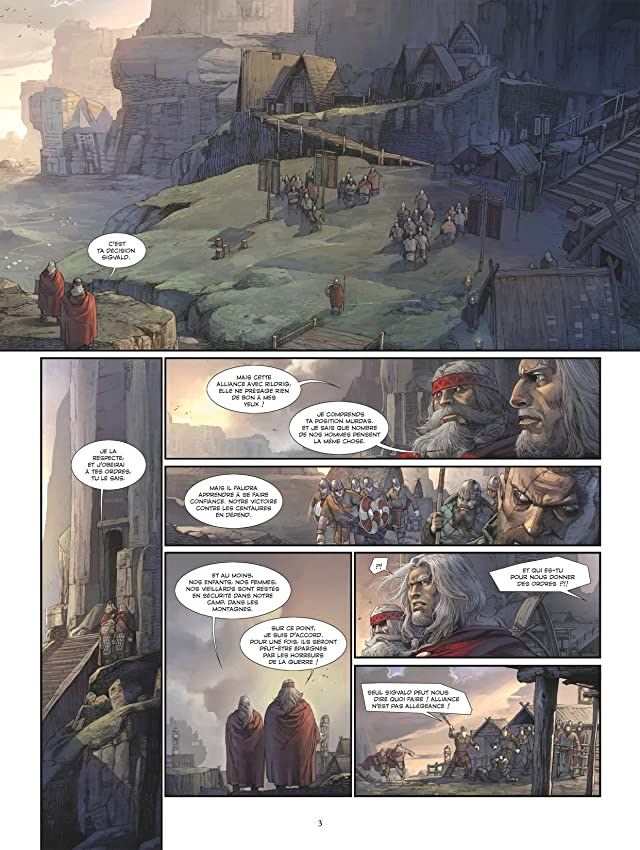 click for super-sized previews of Konungar Vol. 2: Les Guerriers du Néant