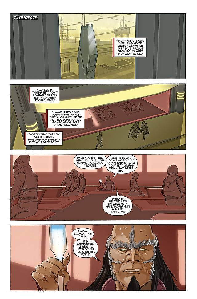click for super-sized previews of Farscape: D'Argo's Quest Vol. 3 #1