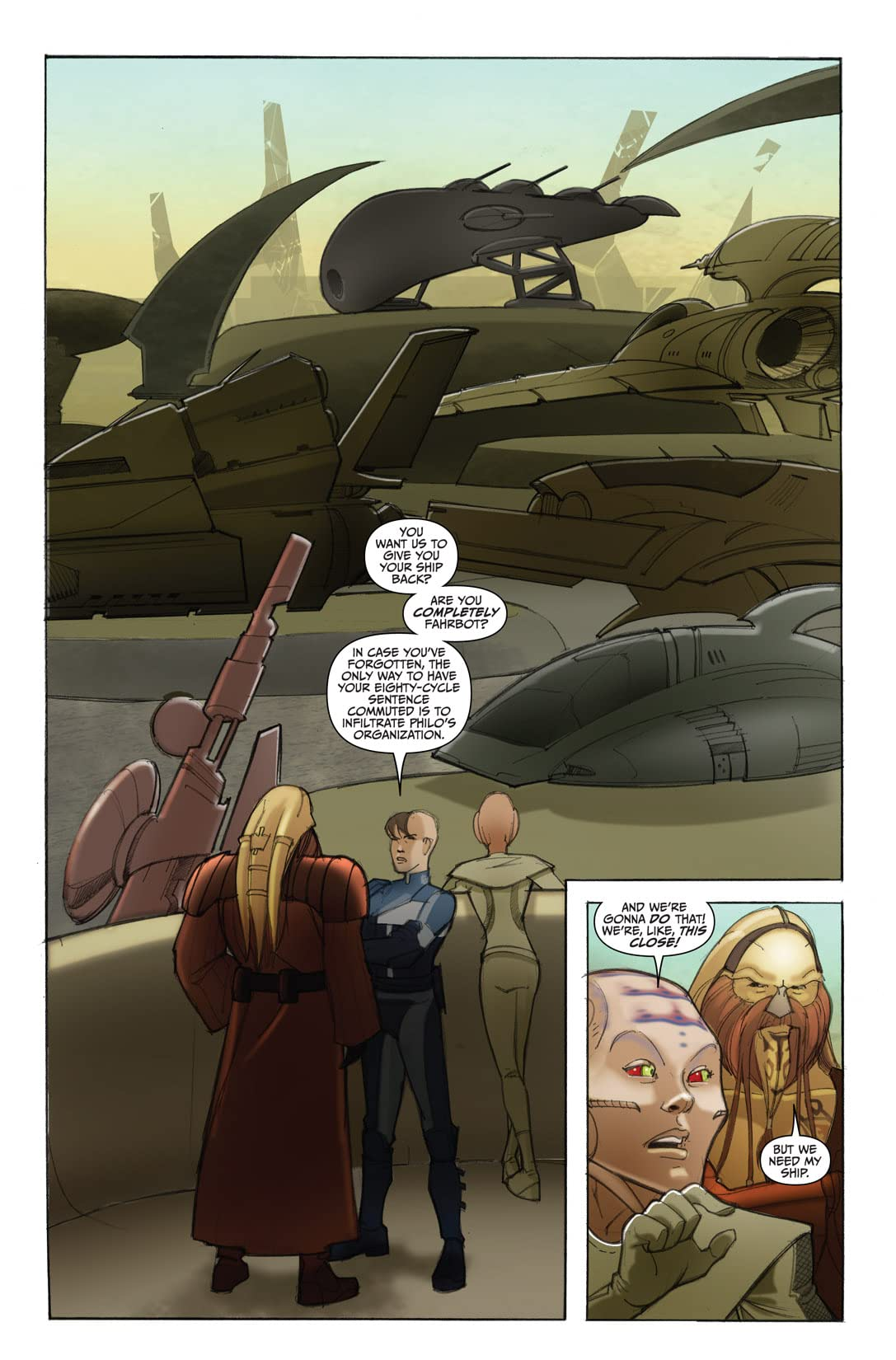 Farscape: D'Argo's Quest Vol. 3 #3 (of 4)