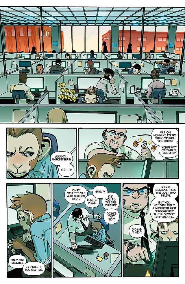 Code Monkey Save World #1