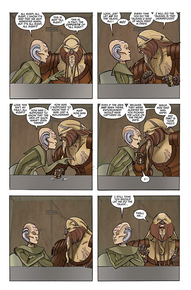 Farscape: D'Argo's Quest Vol. 3 #4 (of 4)