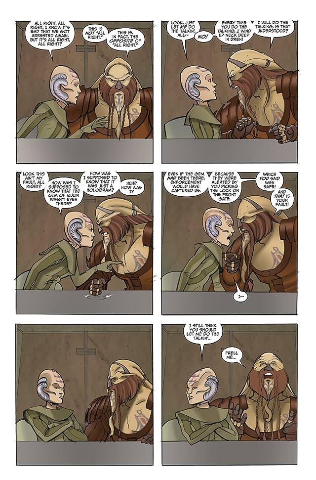 click for super-sized previews of Farscape: D'Argo's Quest Vol. 3 #4