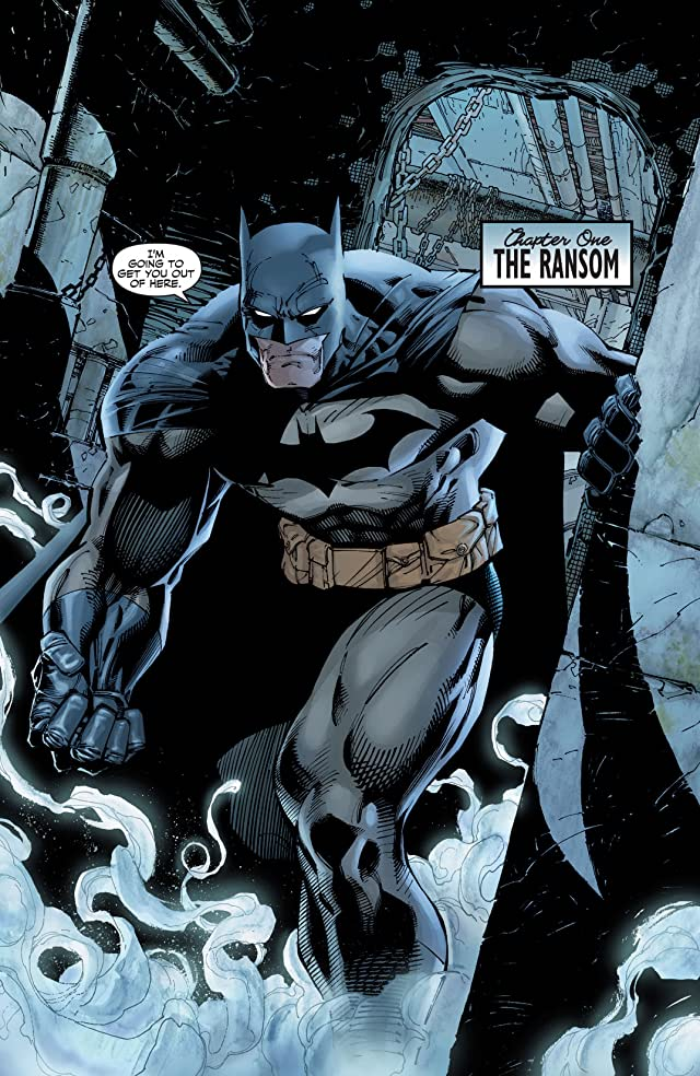 click for super-sized previews of Batman: The Complete Hush