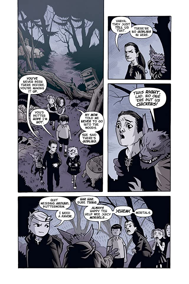 click for super-sized previews of Courtney Crumrin In The Twilight Kingdom Vol. 3 #3