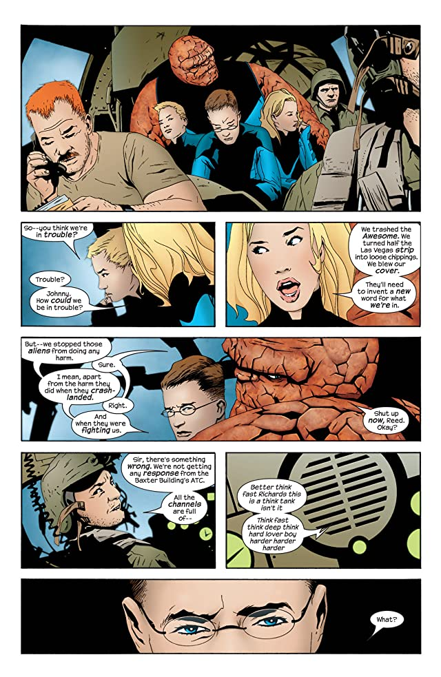 click for super-sized previews of Ultimate Fantastic Four #19