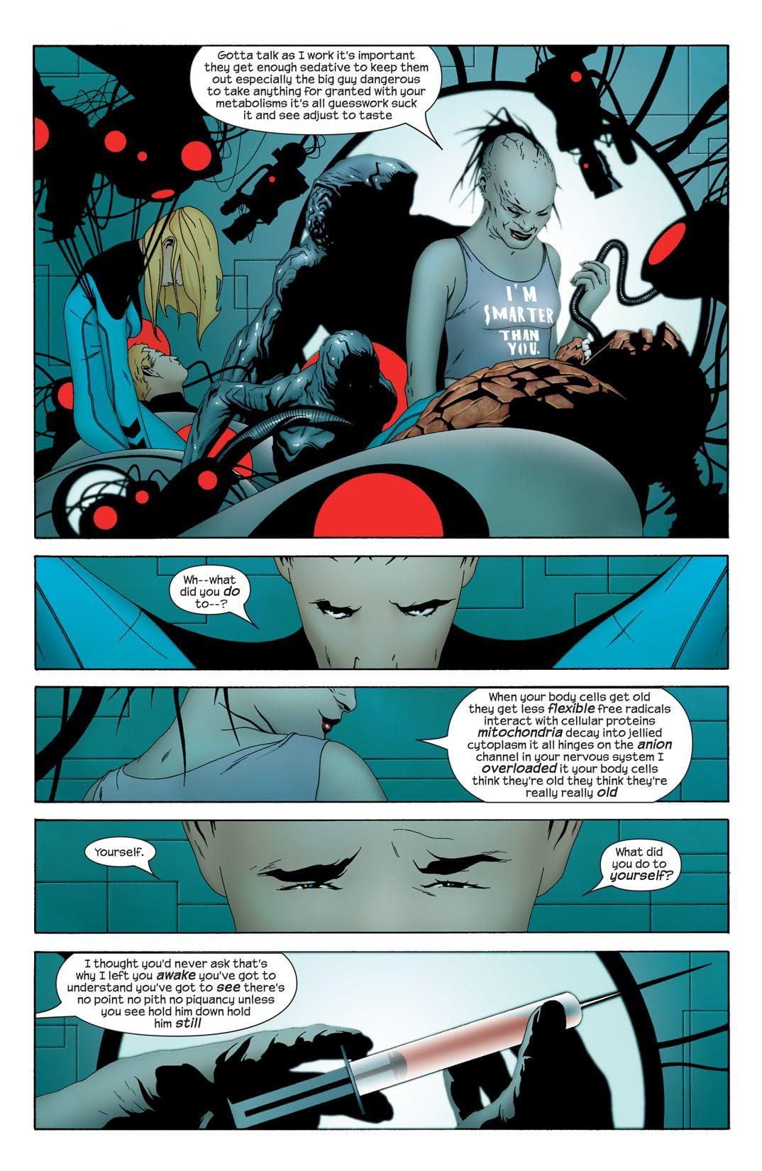 Ultimate Fantastic Four #20