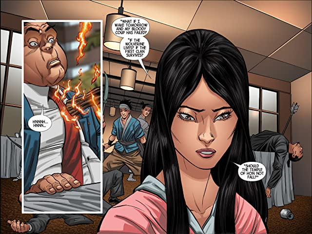 click for super-sized previews of Wolverine: Japan's Most Wanted Infinite Comic #13
