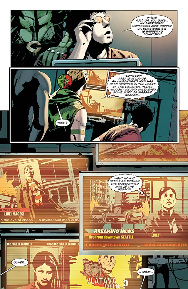 click for super-sized previews of Green Arrow (2011-) #24