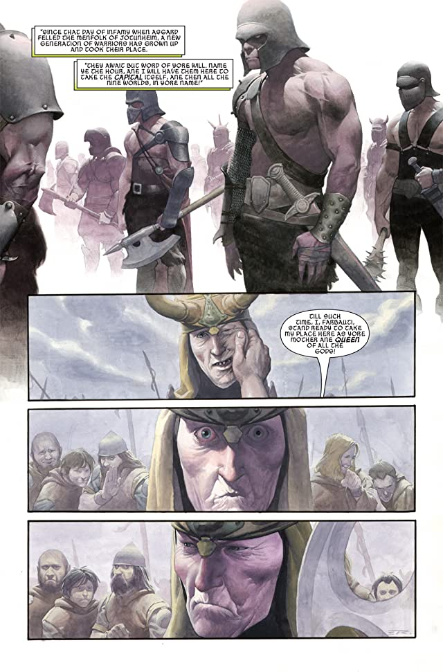 click for super-sized previews of Loki (2004) #4