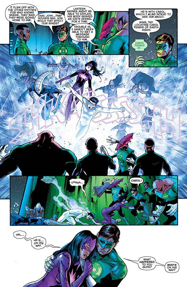 click for super-sized previews of Green Lantern (2011-) #24