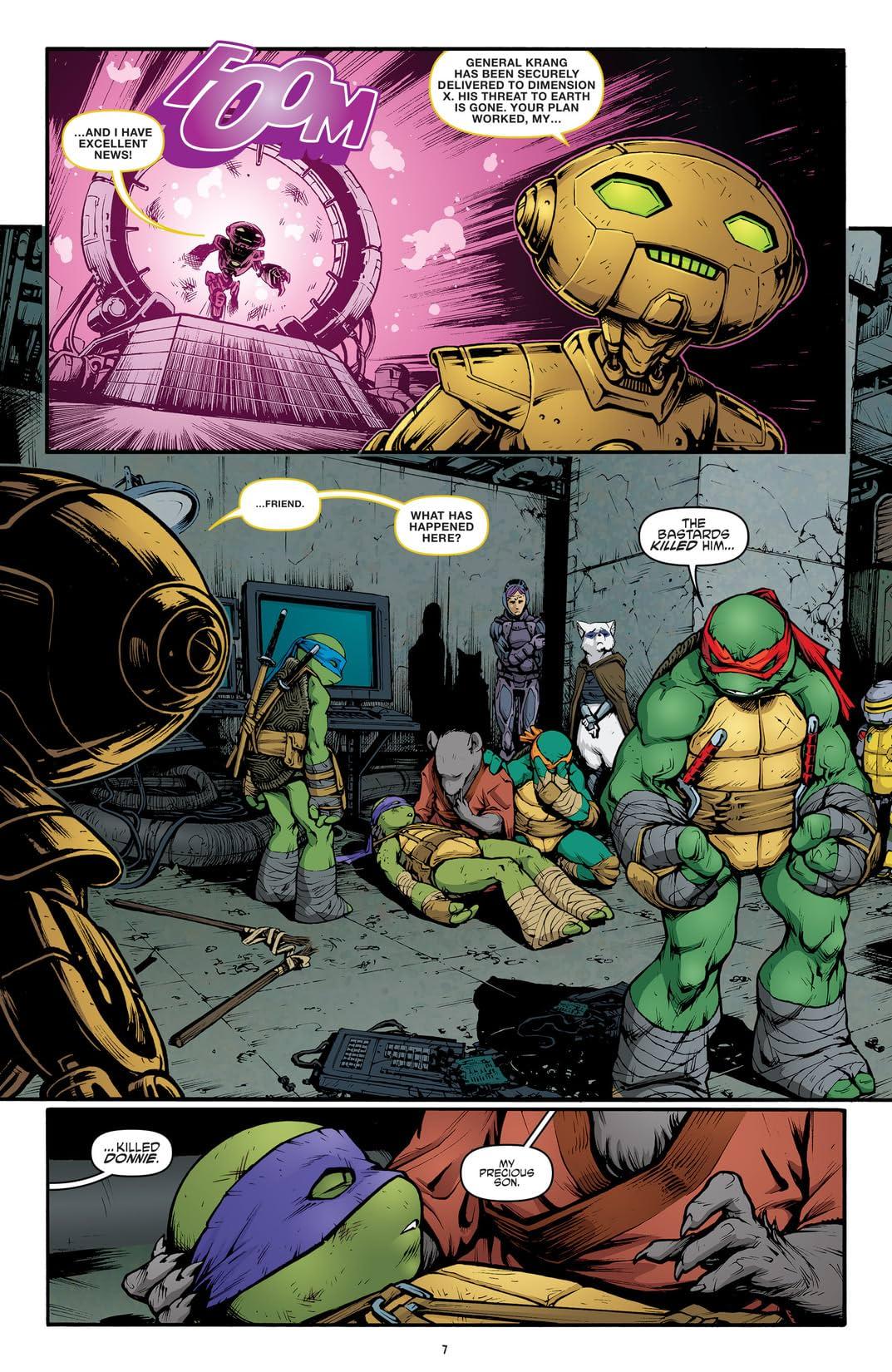 Teenage Mutant Ninja Turtles Vol. 12: Vengeance, Part 1