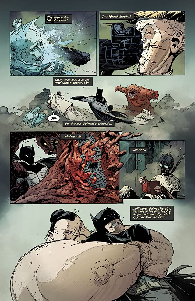 click for super-sized previews of Batman (2011-) Vol. 1: The Court of Owls