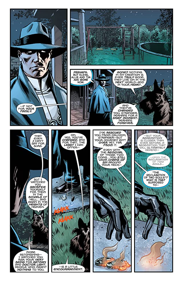 click for super-sized previews of The Phantom Stranger (2012-2014) #12