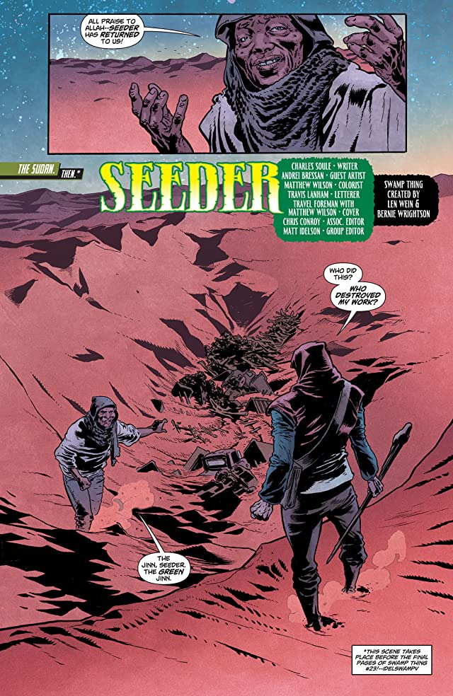 click for super-sized previews of Swamp Thing (2011-2015) #24