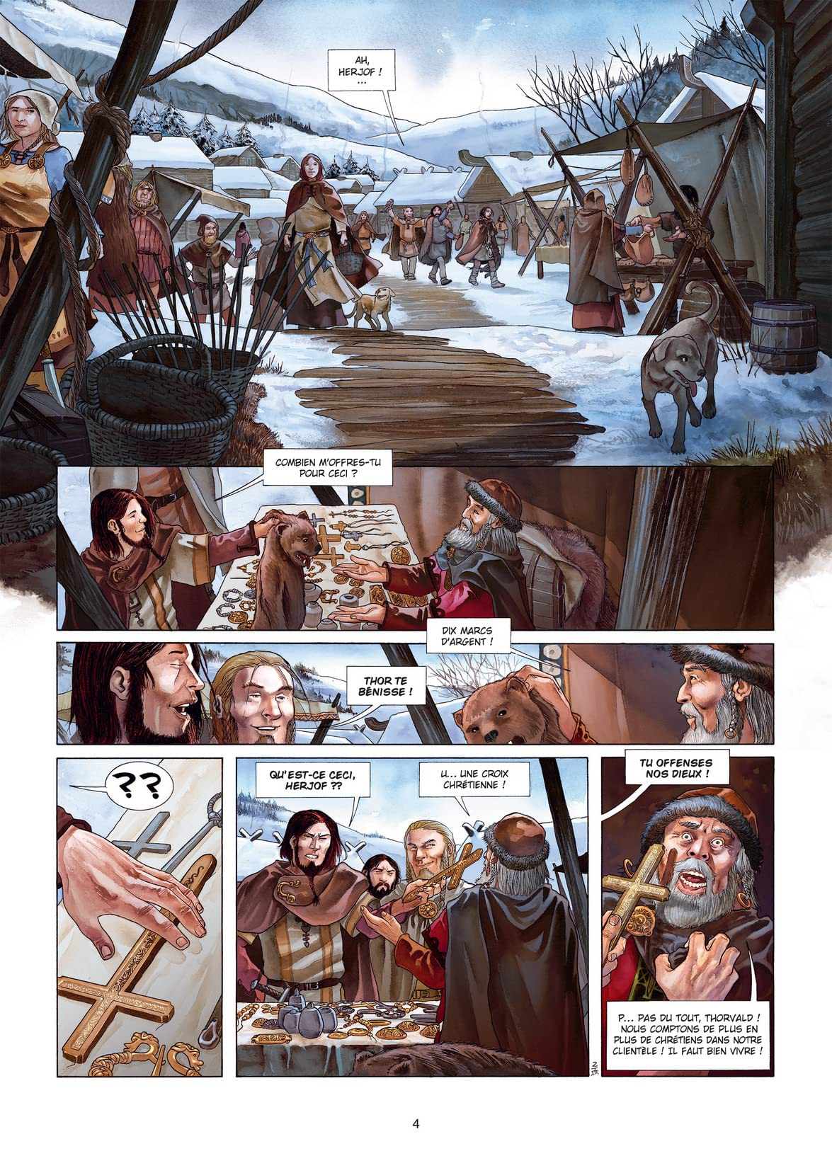 Erik Le Rouge Vol. 1: Le Sang des Vikings