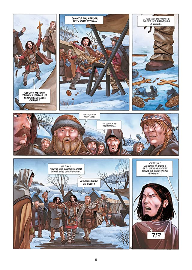 Erik Le Rouge Vol. 1: Le Sang des Vikings
