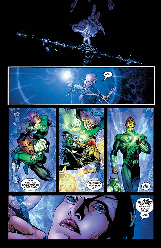 click for super-sized previews of Green Lantern (2011-) Vol. 2: Revenge of the Black Hand