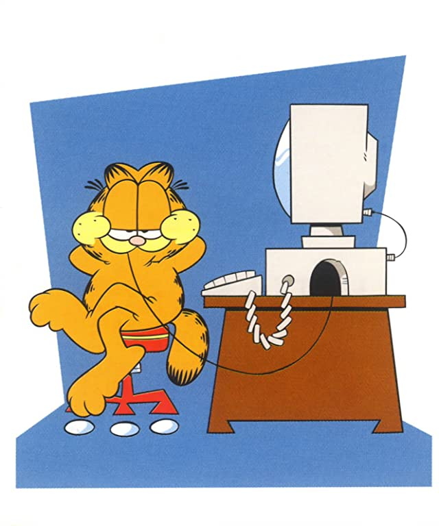 Garfield: Have You Booted Your Computer Today?