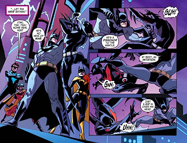 click for super-sized previews of Batman Beyond 2.0 (2013-2014) #5