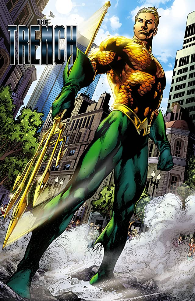 click for super-sized previews of Aquaman (2011-) Vol. 1: The Trench