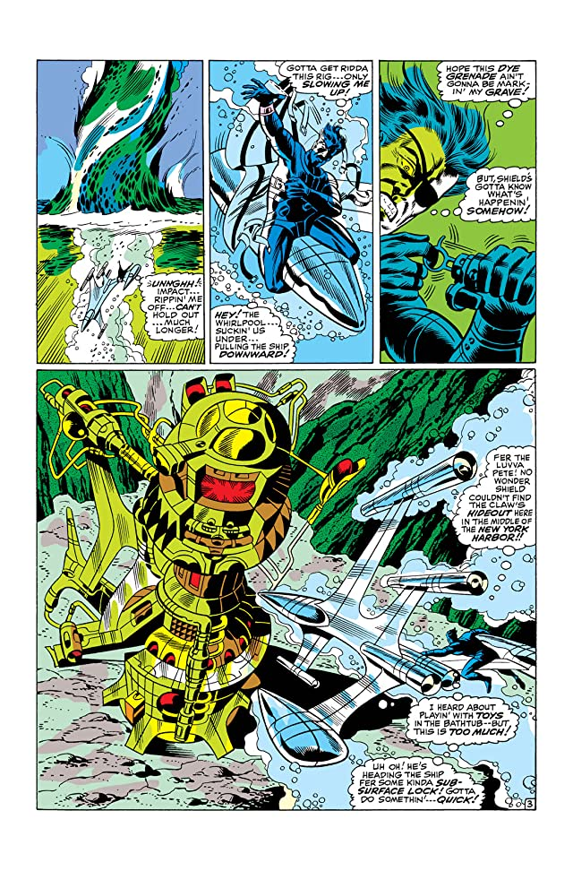 click for super-sized previews of Strange Tales (1951-1968) #166