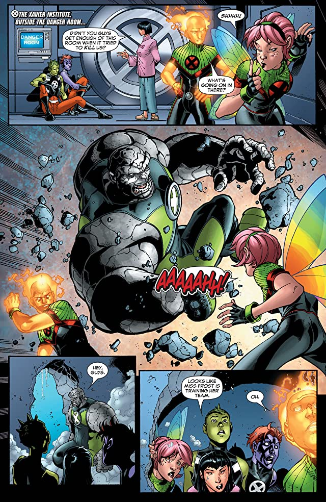 New X-Men (2004-2008) #25