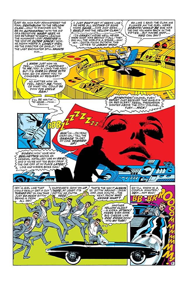 click for super-sized previews of Strange Tales (1951-1968) #168