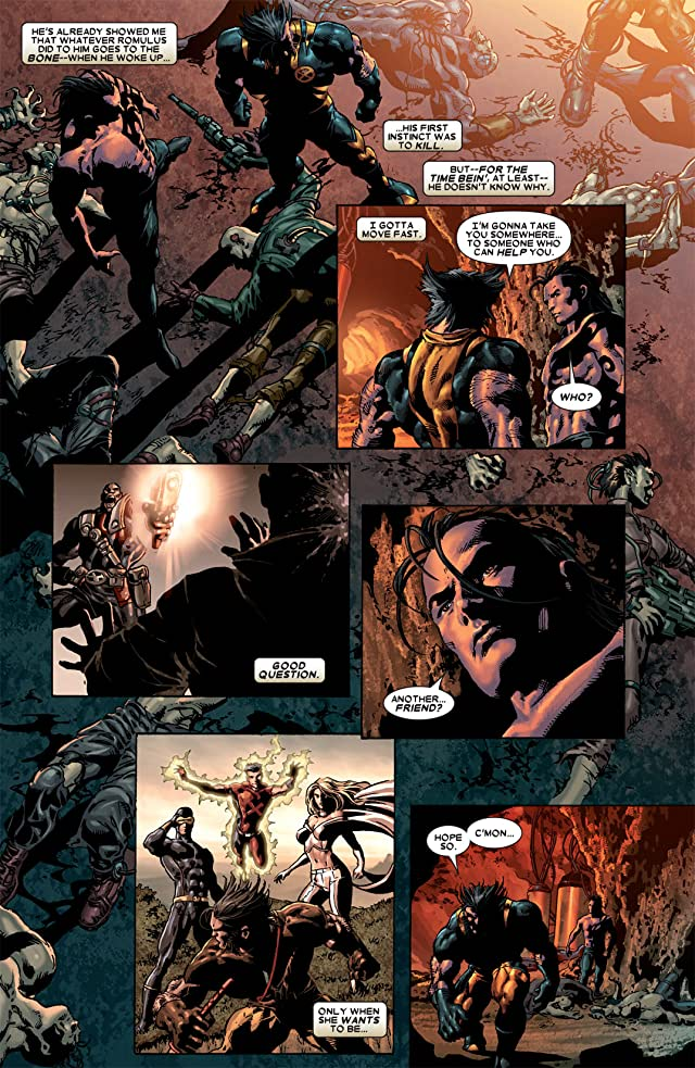 click for super-sized previews of Wolverine: Origins #28