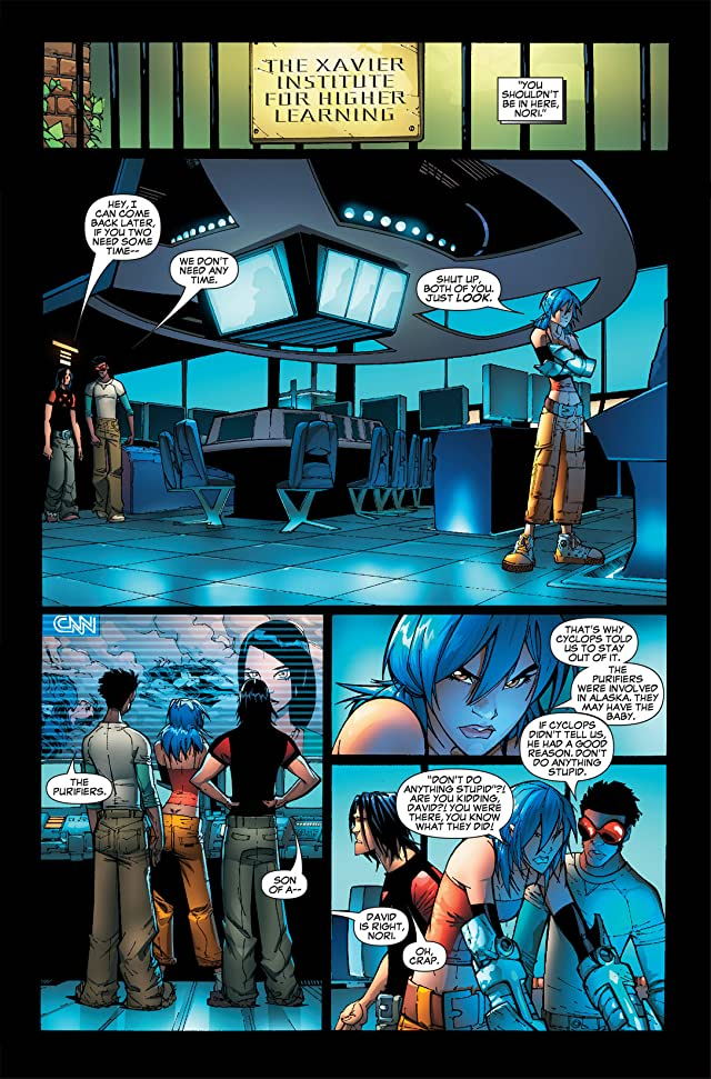 New X-Men (2004-2008) #44