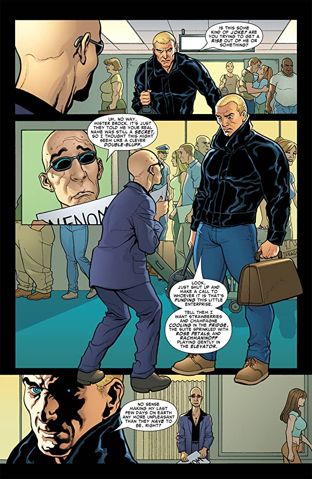 click for super-sized previews of Marvel Knights Spider-Man (2004-2006) #5