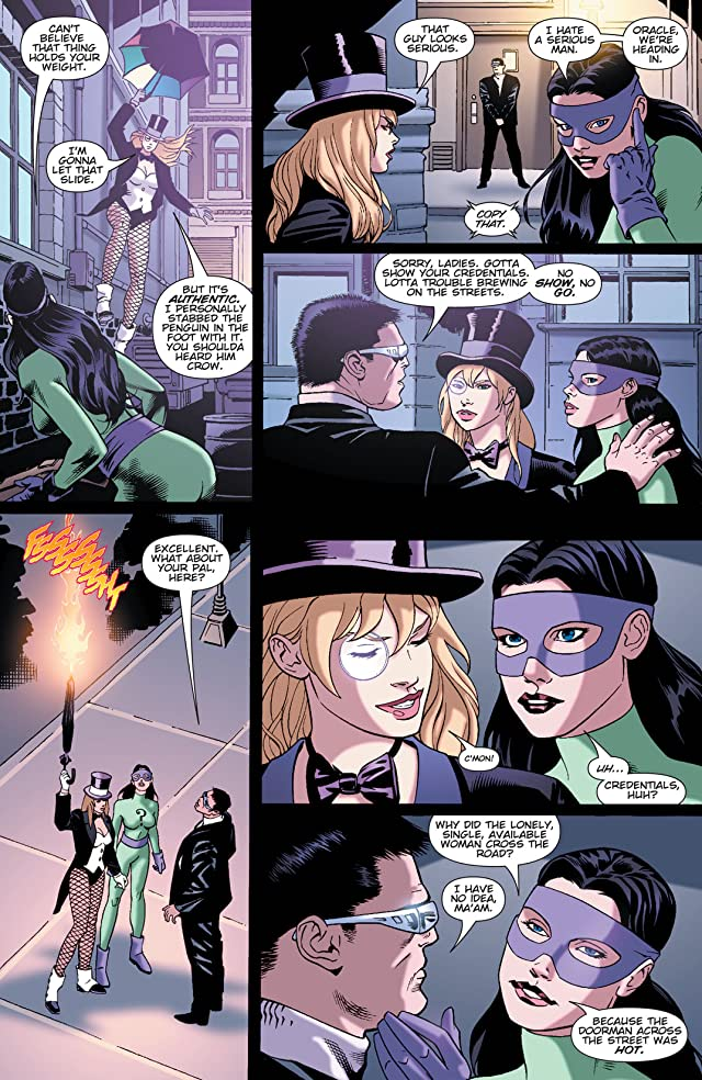 click for super-sized previews of Birds of Prey (1999-2009) #74
