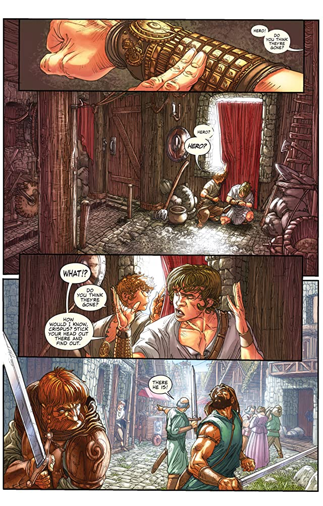 click for super-sized previews of Hero of Alexandria #1