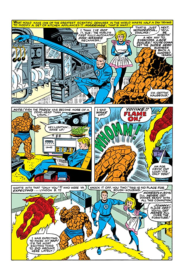 click for super-sized previews of Fantastic Four (1961-1998) #44