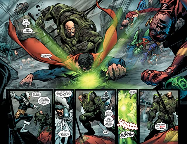 click for super-sized previews of DC Universe Online Legends #1