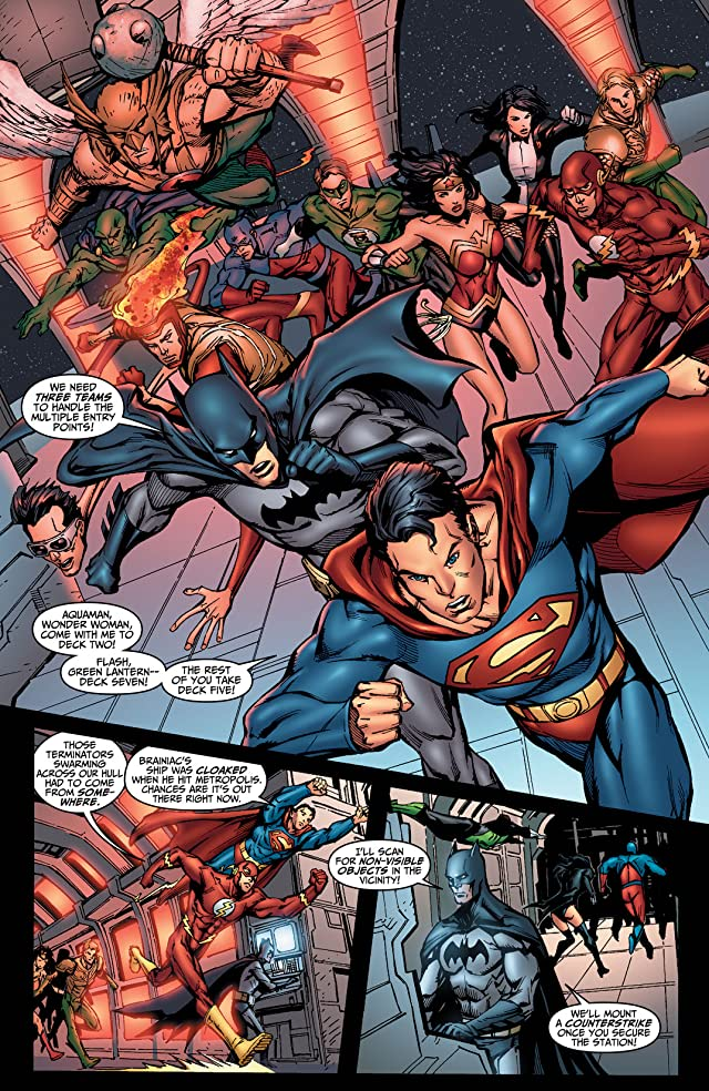 click for super-sized previews of DC Universe Online Legends #4