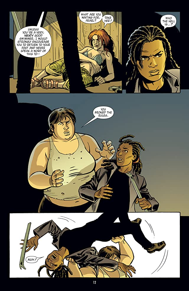 click for super-sized previews of Y: The Last Man Vol. 6: Girl On Girl