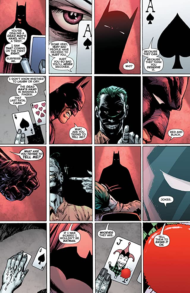 click for super-sized previews of Batman: R.I.P.