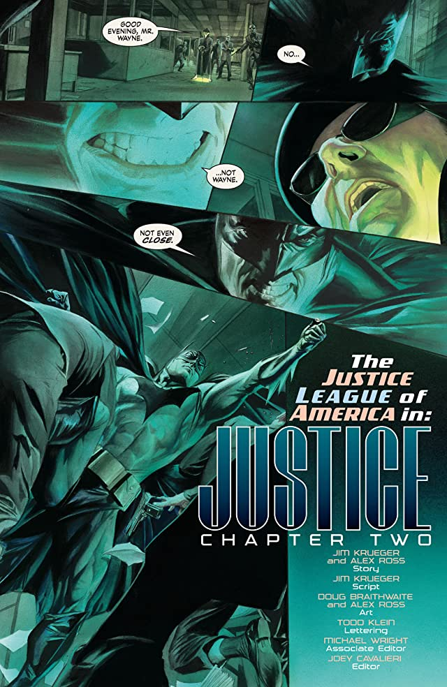 click for super-sized previews of Justice #2